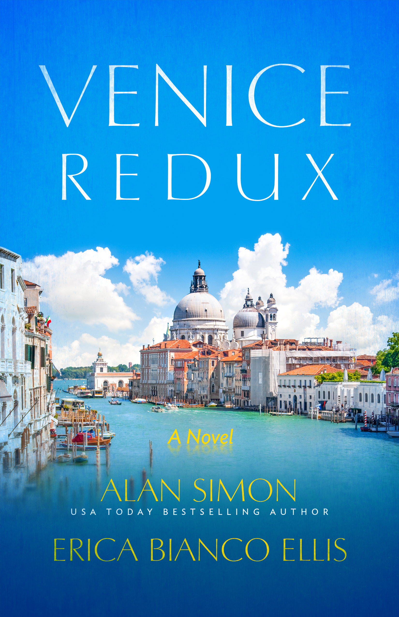 Escape to Venice in Erica and her husband's book!