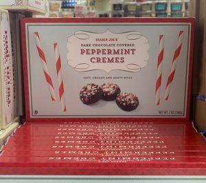 Trader Joe's Dark Chocolate Peppermint Cremes