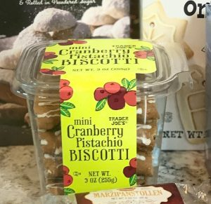 Trader Joes Mini Cranberry Pistachio Biscotti