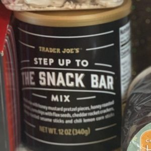 Trader Joe's Step up to the Snack Bar Mix
