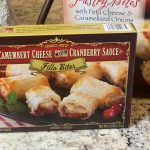 Trader Joe's Camembert Cheese and Cranberry Sauce Fillo Bites