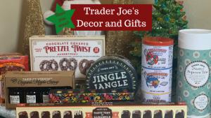 Trader Joe's Holiday Gifts and Decor Items