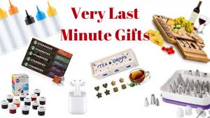 Very last minute gift ideas