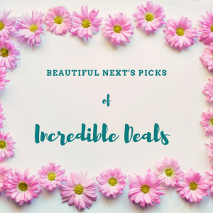 Pink Daisies bordering Beautiful nexts picks of incredible deals