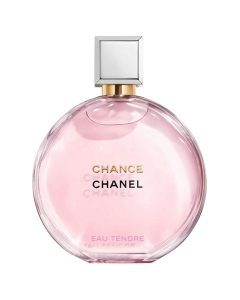 Pink bottle of chance perfume