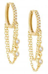 Adina's Jewels Chain Drop Earrings