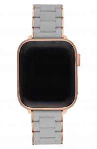 Apple Watch Michele Silocone Bracelet Strap