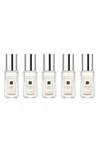 Jo Malone Cologne Sampler 5 small bottles with Silver Caps