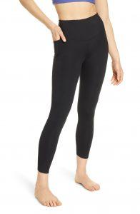 Zella high waist leggings in black