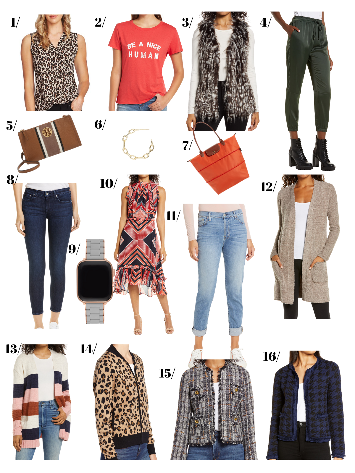 16 choices from the Nordstrom Anniversary Sale. Women's Clothing and Accessories