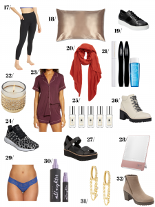 15 more choices for NSALE Wishlist Shoes, Scarf, Pillow Case, Cologne, Earrings and more